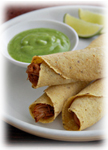 "The taquito or ""little taco"" is truly a delicious snack."
